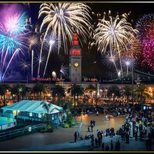 New Year's Eve 2017 Fireworks Gala on the Embarcadero (indoor/outdoor)