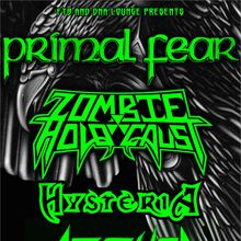 Primal Fear Live @ DNA Lounge