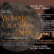 Midnight in the Garden of Good & Evil - A Soiree for AIDS Lifecycle Team FWB
