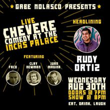 Chevere Comedy at Inca's Palace