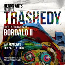"Bordalo II ""Trashedy"" (FIRST US SOLO SHOW)"