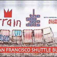 Train & Goo Goo Dolls Shoreline Amphitheater Shuttle Bus