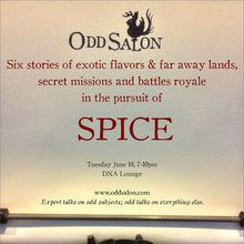 Odd Salon: Spice