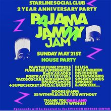 Pajama Jammy Jam - 2 Year Anniversary Party