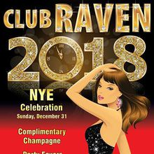 New Year's Eve 2018 at Club Raven