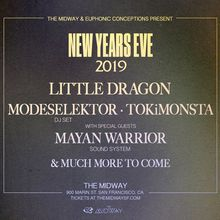 Litte Dragon, Modeselektor (DJ Set), Tokimonsta, Mayan Warrior