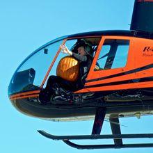 Halloween Haunted Hangar & Helicopter Pumpkin Drop