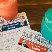 Hillary v. Trump Debate Bingo