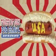 San Francisco Fourth Of July Pub Crawl & Hot Dog Eating Contest