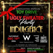 Indulgence Toy Drive + Ugly Sweater Party