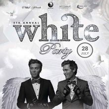 The 5th Annual WHITE PARTY featuring British DJ Duo, The EC TWINS