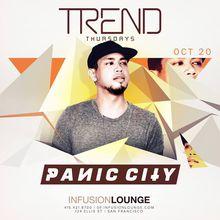 Panic City at #TrendThursdays