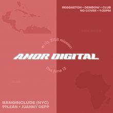 Amor Digital @ El Rio FREE Perreo Party