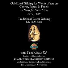 Traditional Water Gilding