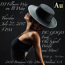 DJ Fillmore Wax on B'Way
