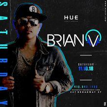 Hue Saturdays with Brian V