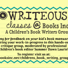 Writeous Writers Children's Book Writers Group at Books Inc. Opera Plaza