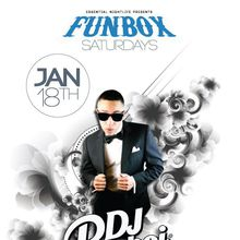 Funbox Saturdays w DJs Playboi + Kala