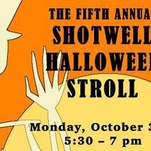 Shotwell Hallowe'en Stroll - Trick or Treat Route
