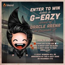 Win Tickets To See G-Eazy on Blend