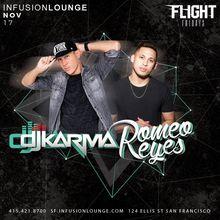 DJ Karma & Romeo Reyes at #FlightFridays