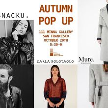 Autumn Fashion Pop Up Shop