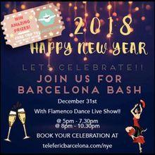 Telefèric Barcelona New Years Eve Bash