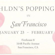 BHLDN Pop-up and Trunk Show