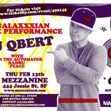 DJ Qbert - Album Release Party