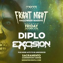 Fright Night: DIPLO, Excision