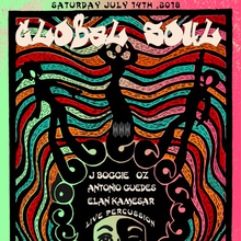 GLOBAL SOUL: J BOOGIE, SENOR OZ (AFROLICIOUS, ESL MUSIC), ANTONIO GUEDES, ELAN KAMESAR, LIVE PERCUSSION