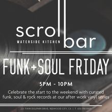 Scroll Bar Funk & Soul Fridays