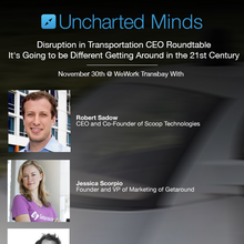 Disruption in Transportation CEO Roundtable