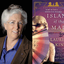 LAURIE R. KING at Books Inc. Campbell
