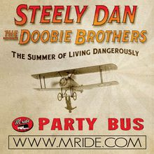 Steely Dan Shoreline Amphitheater Shuttle Bus