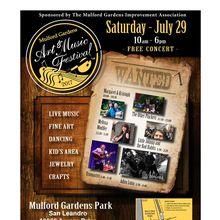 The Mulford Gardens Art & Music Festival