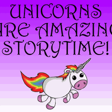 """Unicorns Are Amazing!"" PJ Storytime in Santa Clara"