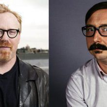 John Hodgman and Adam Savage: A Spin-A-Wheel-Conversation
