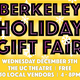 Berkeley Holiday Gift Fair