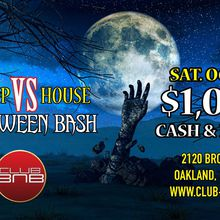 Club BNB's Hip Hop vs House Halloween Bash $1K in Cash & Prizes