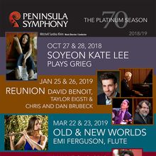 Peninsula Symphony w Soyeon Kate Lee playing Grieg piano concerto