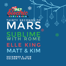 ALT 94.7 Presents Electric Christmas