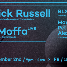 The Shuffle Co-Op w/ Patrick Russell, Phil Moffa (live) & BLXCK