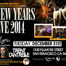 NEW YEAR'S EVE 2014 AT YOSHI'S