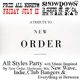 A Tribute to New Order -All Styles Party @ Showdown Friday 7/11