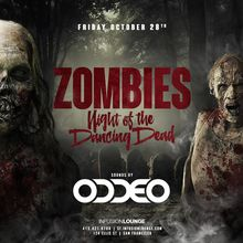 Halloween at Infusion SF   Night of the Dancing Dead