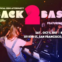 BACK 2 BASIC with MARK G | Unofficial ZEDD Afterparty