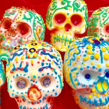 Unique! Mexican Sugar Skull Art Class in Berkeley