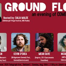 Ground Floor - an evening of comedy