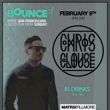Bounce Sundays feat Chris Clouse